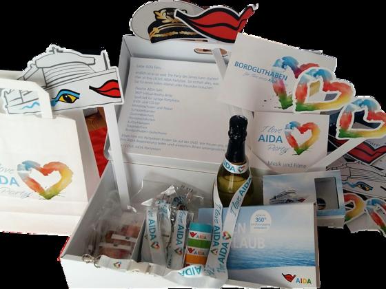 I LOVE AIDA Partybox