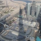 Schattenwurf des Burj Khalifa