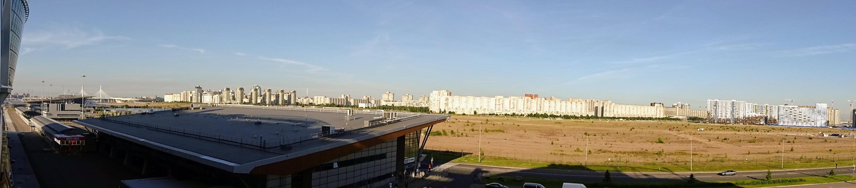 13_St.Petersburg - Blick vom Liegeplatz auf die Stadt