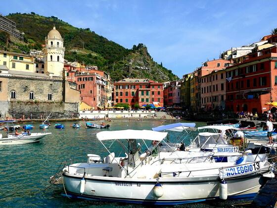 Vernazza - Cinque Terre Nationalpark / Italien