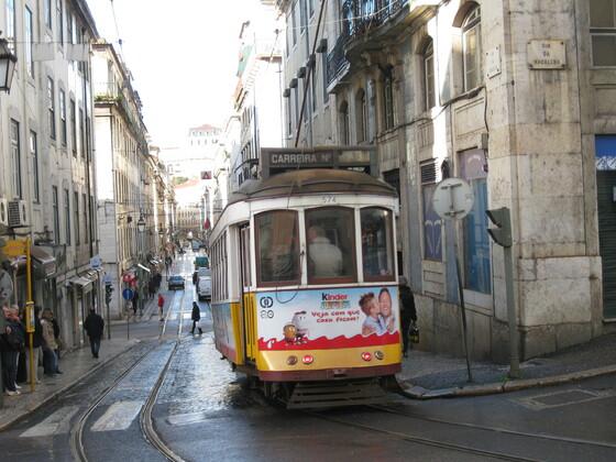 "Lissabon Impressions - Die berühmte ""Electrico"""