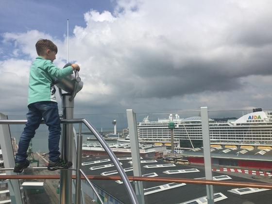 Transatlantik AIDAmar 2017 - AIDAmar trifft AIDAprima in Le Havre
