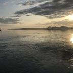 Kiel - Hafeneinlauf mit der Aidaprima