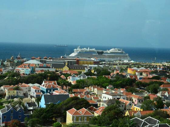 AIDAdiva in Curacao, Dez. 2015