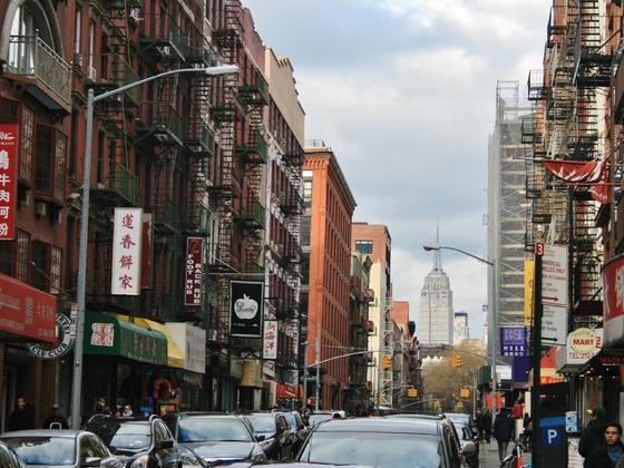 New York, Straße in Manhattan