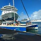 St. Lucia... vom Schiff aufs Schiffchen