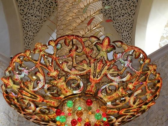 Abu Dhabi - Große Moschee