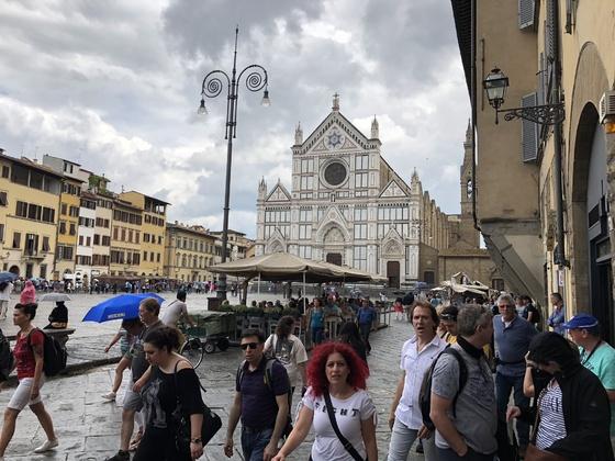 Firenze, im Mai 2018 nach einer Stadtführung