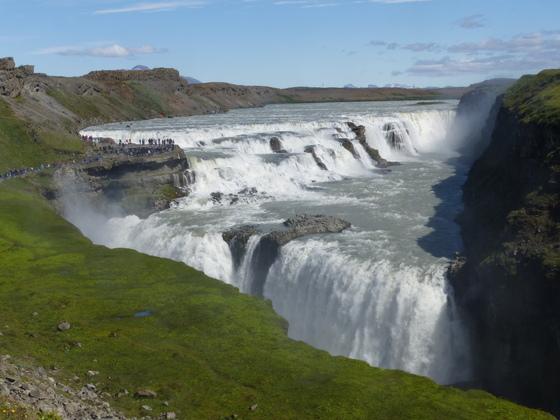 Island - der Gullfoss