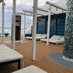 Aida Lounge und Patiodeck AidaNova
