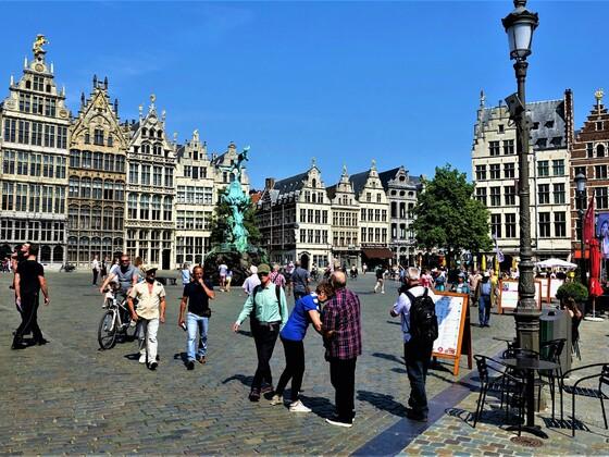 23.09.2020 heute wären wir mit der AIDAvita in Antwerpen gewesen