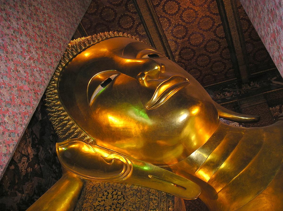 Wat Pho, der liegende Buddha
