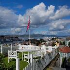 Bergen - noch ist die Stadt vom Kreuzfahrtschiff aus nicht erreichbar ...