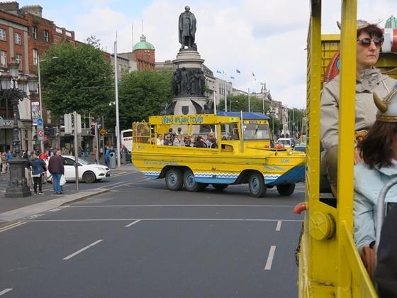 Mit den Schwimmwagen aus dem II. WK durch Dublin