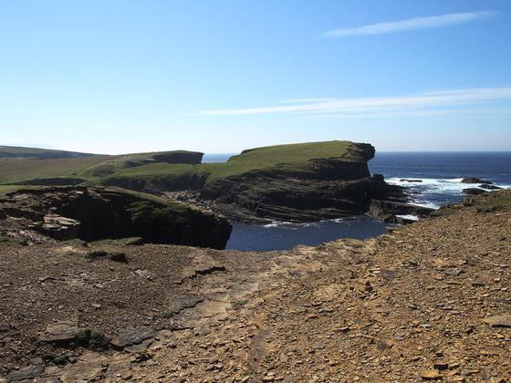 Orkney Inseln - Die Küstenlandschaft bei Yesnaby