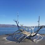 Die Ruderer in  Reykjavík