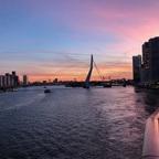 Auslaufen aus Rotterdam