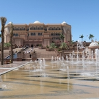 "Das Superhotel ""Emirates Palace"" in  Abu Dhabi"