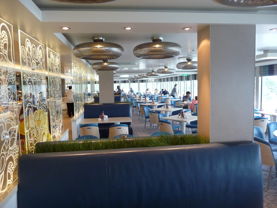 Norwegian Getaway - Buffet Garden Cafe
