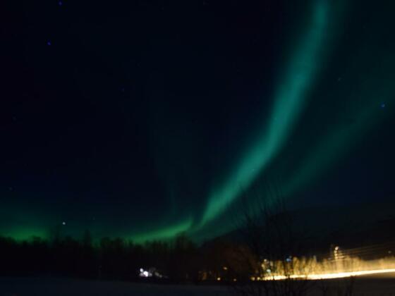 Nordlichter in Alta
