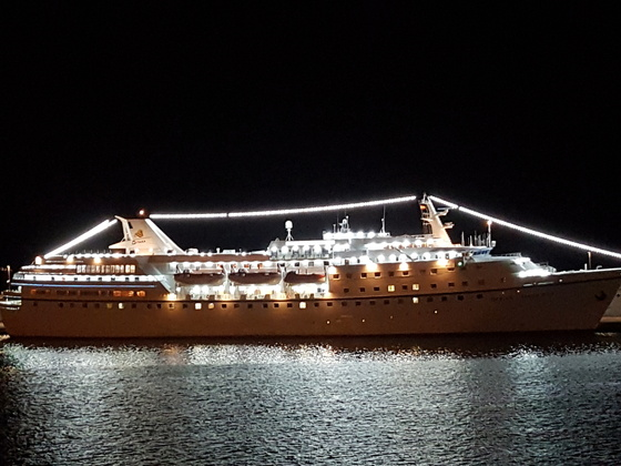 Ocean Majesty in Santa Cruz de Tenerife am 19.01.201