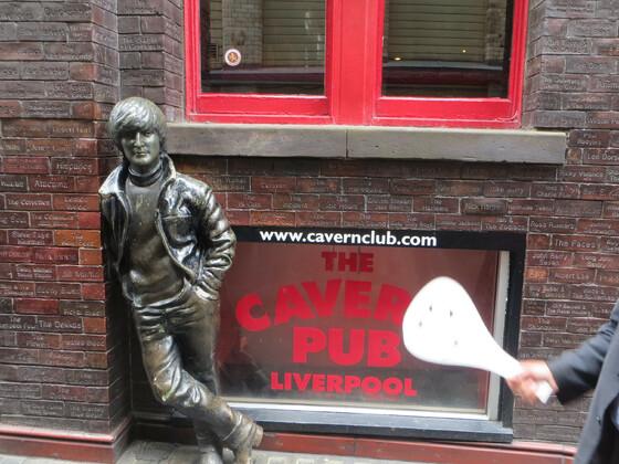 Spuren der Beatles in Liverpool