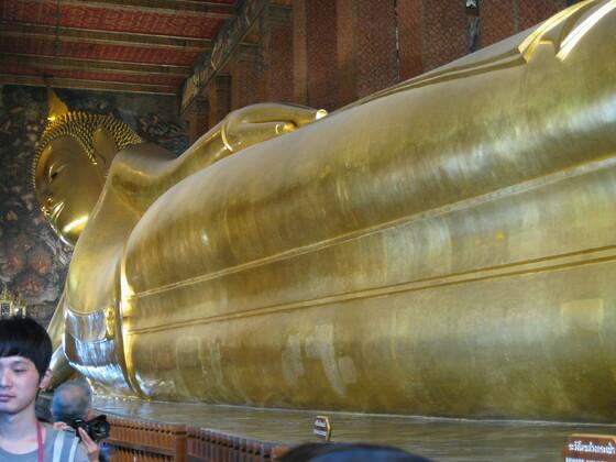 Bangkok Impressions - Wat Pho - Liegender Buddha