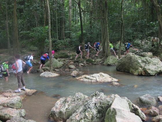 Koh Samui - Biking Gruppe auf Abwegen