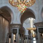 Schmuckstück Moschee in Abu Dhabi