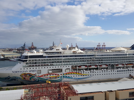 NORWEGIAN SPIRIT Las Palmas am 18.01.2018