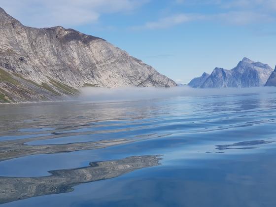 Im Fjord vor Nuuk