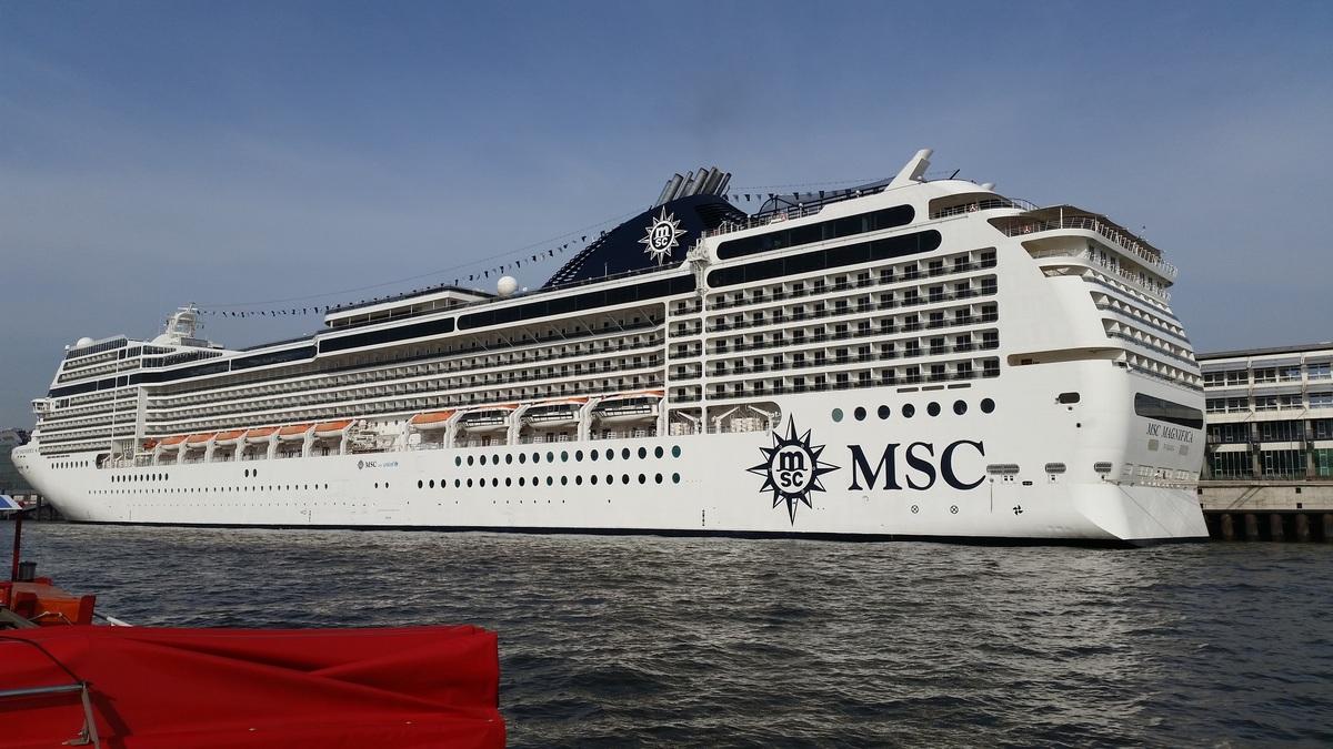 MSC MAGNIFICA Hafen Hamburg 28-09-2014