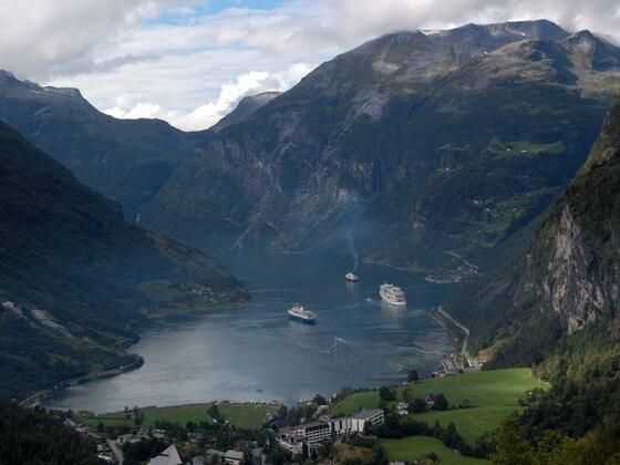 Träume lassen wir uns nicht verbieten - wir wollen wieder den Geiranger-Fjord von oben sehen!