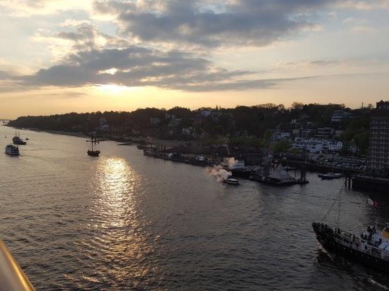 Kleine Hafenrundfahrt mit der Prima