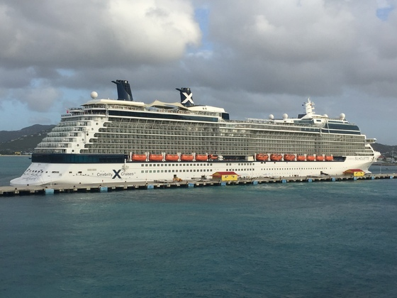 Celebrity Silhouette, St. Maarten