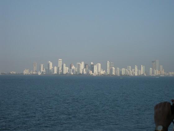 Karibische Momente - Skyline Cartagena