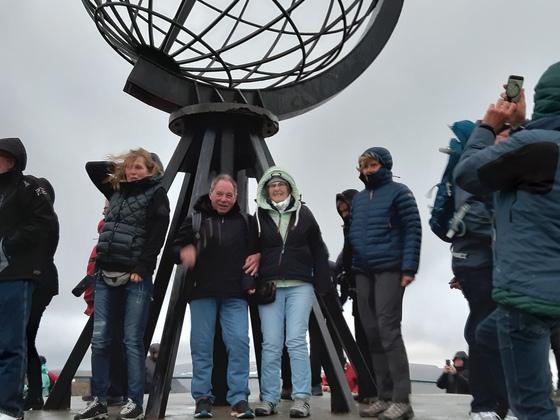 Wir sind am Nordkap