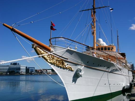 Aarhus - Die dänische Königsyacht Dannebrog