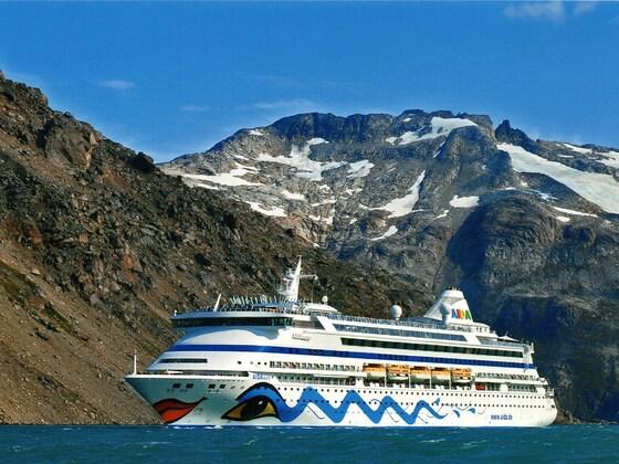 Mit AIDAaura in Grönland