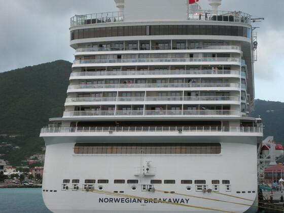 Norwegian Breakaway in Tortola