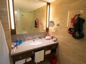 Hotel Jen Orchad Road Singapur Bad