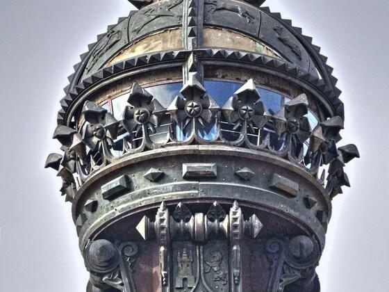Die Kolumbussäule in Barcelona