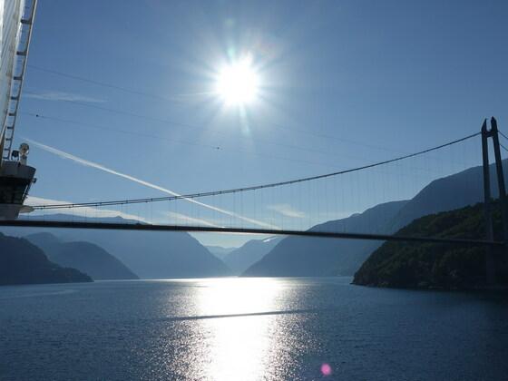 AIDAsol Hardangerfjord 26.07.18
