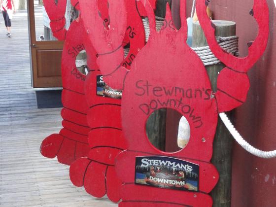 Lobster Restaurant in Bar Harbour