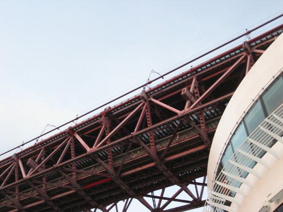 """Lissabon Impressions - Die bella unter der """"Ponte 25 de Abril"""""""
