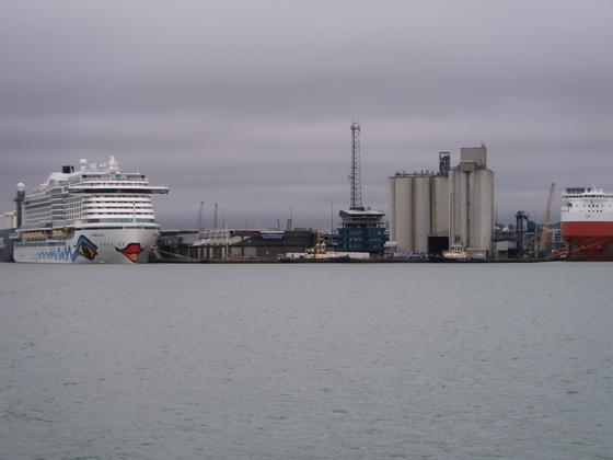 Aidaprima in Southampton