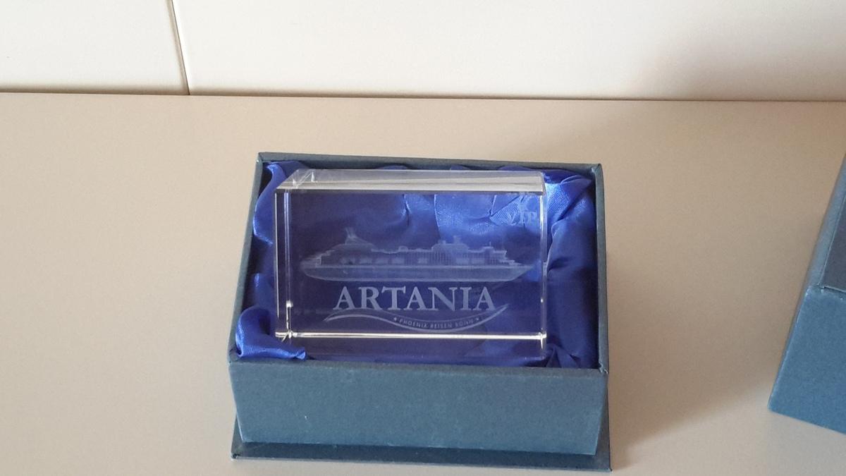 MS Artania 7466 Kabinenpresent