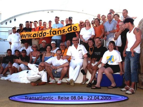 AIDA- Fantreffen an Bord der AIDAvita