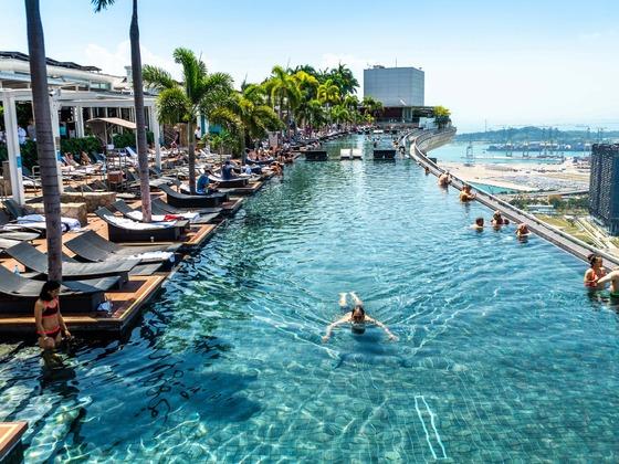 Singapur - Auf dem Marina Bay Sands3