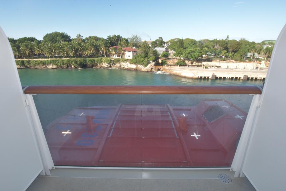 Balkonkabine 6116 auf der Mein Schiff 6
